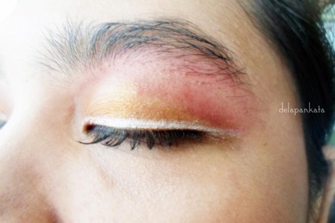 Close Up (detail eye shadow dan eye liner)