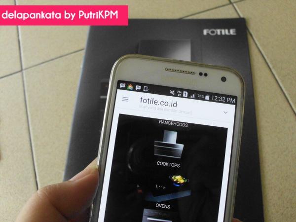 Website Fotile www.fotile.co.id