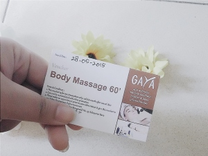 Voucher Spa di Gaya Spa