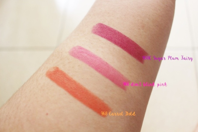 swatches all colors