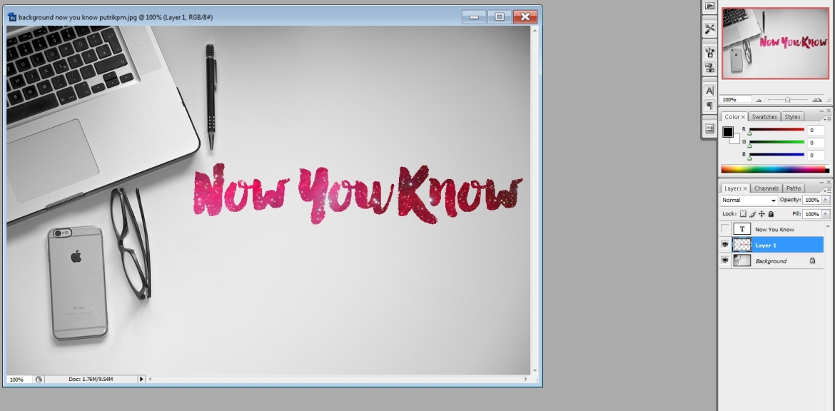 Photoshop now you know - putrikpm 8