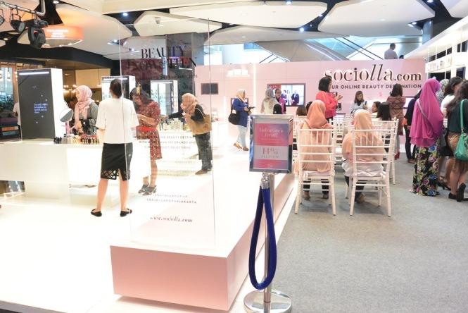 Sociolla Pop Up Plaza  Indonesia 2