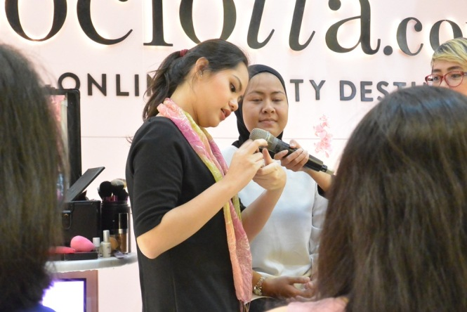 Sociolla Pop Up Plaza Indonesia Jennifer Hakim 2