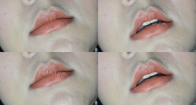 Wardah Longlasting Swatches To Lips - Delapankata