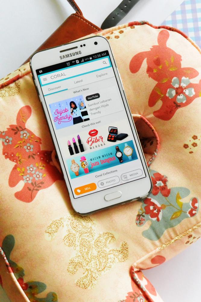 CORAL Apps - Solusi Belanja Online - DelapanKata