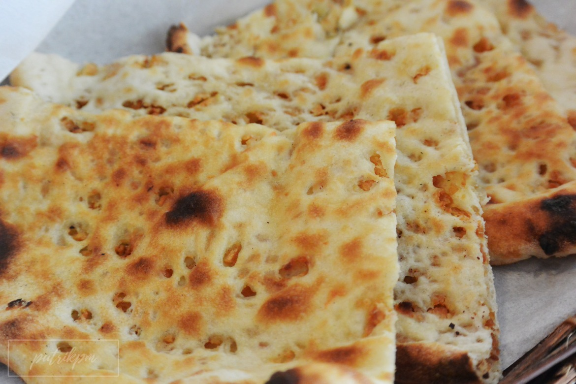 Garlic Naan - Zanas Indian Fusion