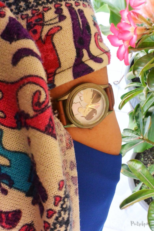Jam Tangan Vintage Custom